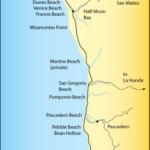 San Mateo Coast Beach Map