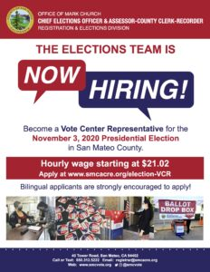 The Elections Team is Hiring for November